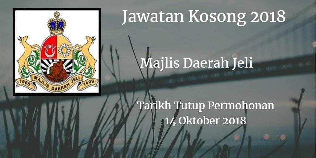 Jawatan Kosong MDJ 14 Oktober 2018