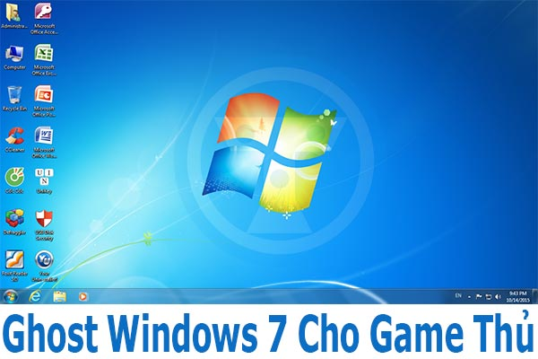 Ghost Windows 7 Ultimate (x86 + x64) Full Soft + Driver Cho Game thủ