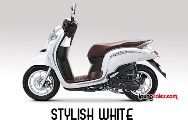Honda-Scoopy-2019-stylish-white