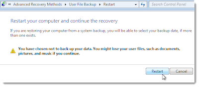 windows 7 system recovery