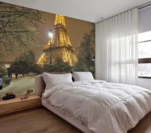 FOTOMURAL NOCHE EN PARIS