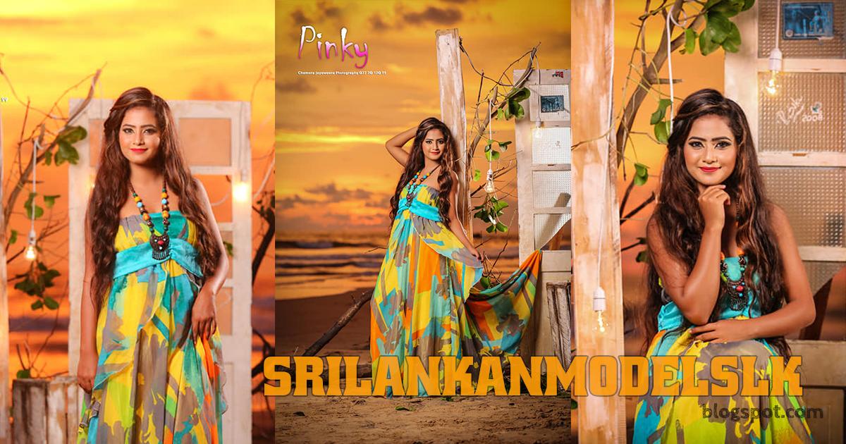 Pinky Nikesha - Srilankan Upcoming Model