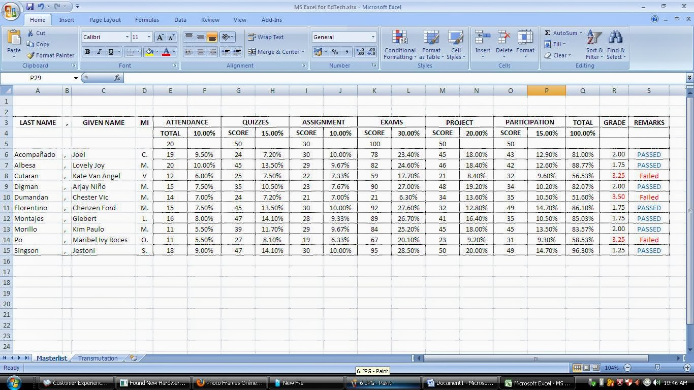The Ultimate Deteriorator Exercise No 9 Ms Excel