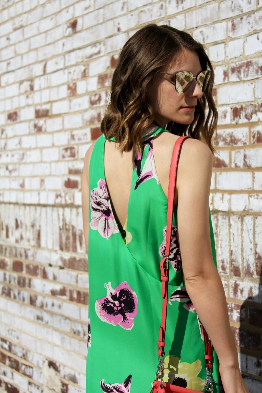 Open Back Summer Dress