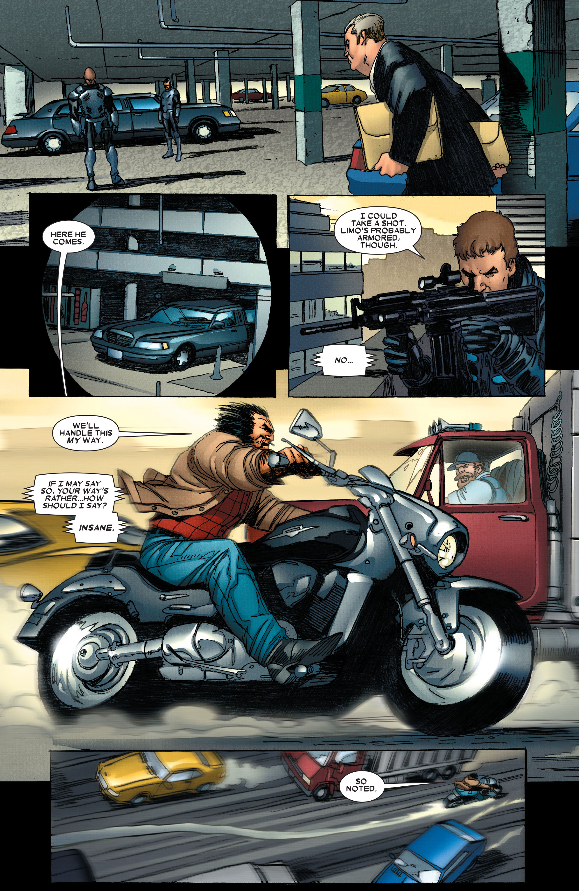 Read online Wolverine: Weapon X comic -  Issue #4 - 10