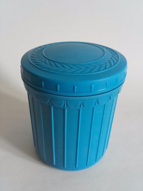 Blue Soviet USSR Bakelite Box