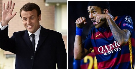 NEYMAR France President Gives His Approval For Neymar's Transfer To PSG Sport