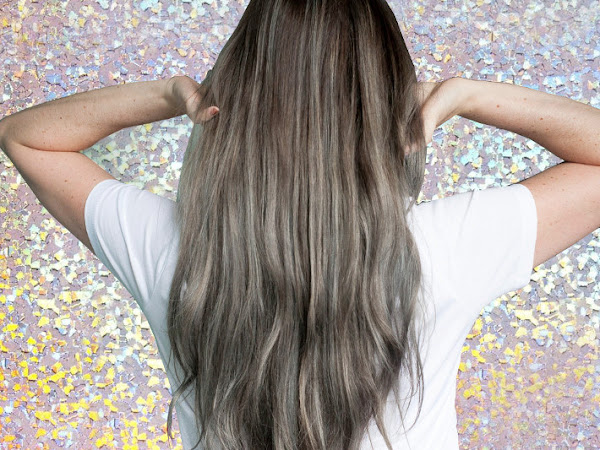 Beauty: Grey hair with L'Oréal #colorfulhair