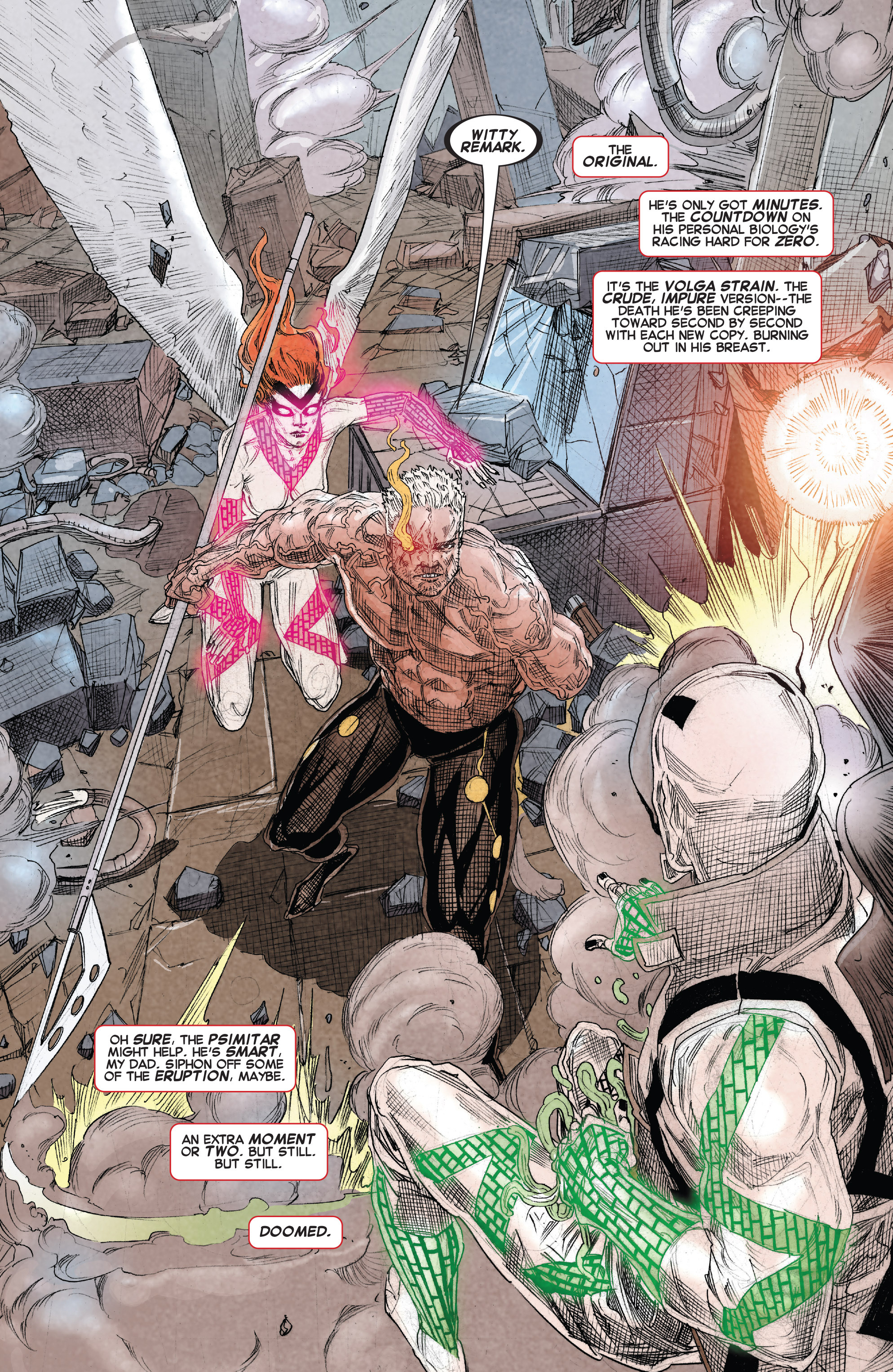 Read online X-Force (2014) comic -  Issue #15 - 7