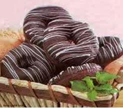 cara membuat donat coklat empuk ala Jco dan dunkin