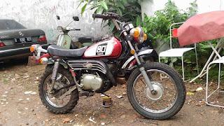 BUKALAPAK MOTOR JADUL : Jual Yamaha GT80 Tahun 74 - TANGSEL