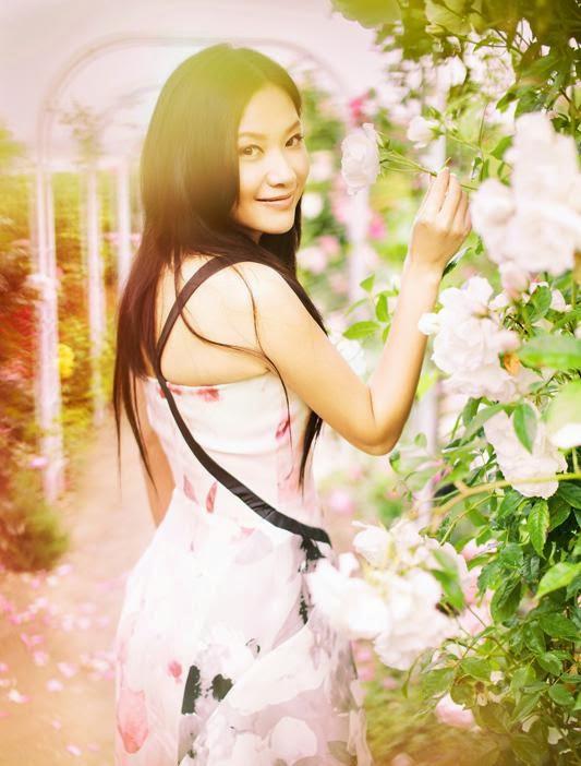 Chinese Beauty!: Xu Jinglei autumn photo