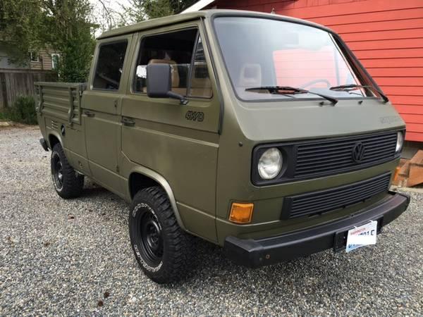 1989 vw syncro doka turbo diesel vw bus wagon. Black Bedroom Furniture Sets. Home Design Ideas