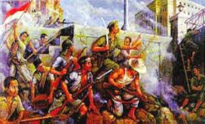 Pertempuran Surabaya 10 november 1945 oleh arek-arek Suroboyo