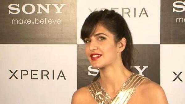 Katrina Kaif Launching Sony Xperia In India