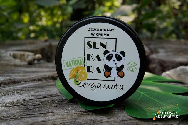 Senkara - Dezodorant w kremie Bergamota