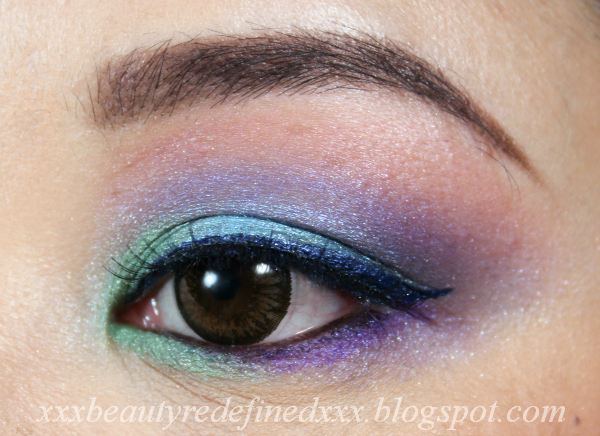 beautyredefined by pang cotton candy makeup look and tutorial