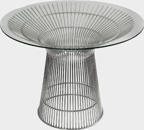 Santana Modern Round Coffee Table