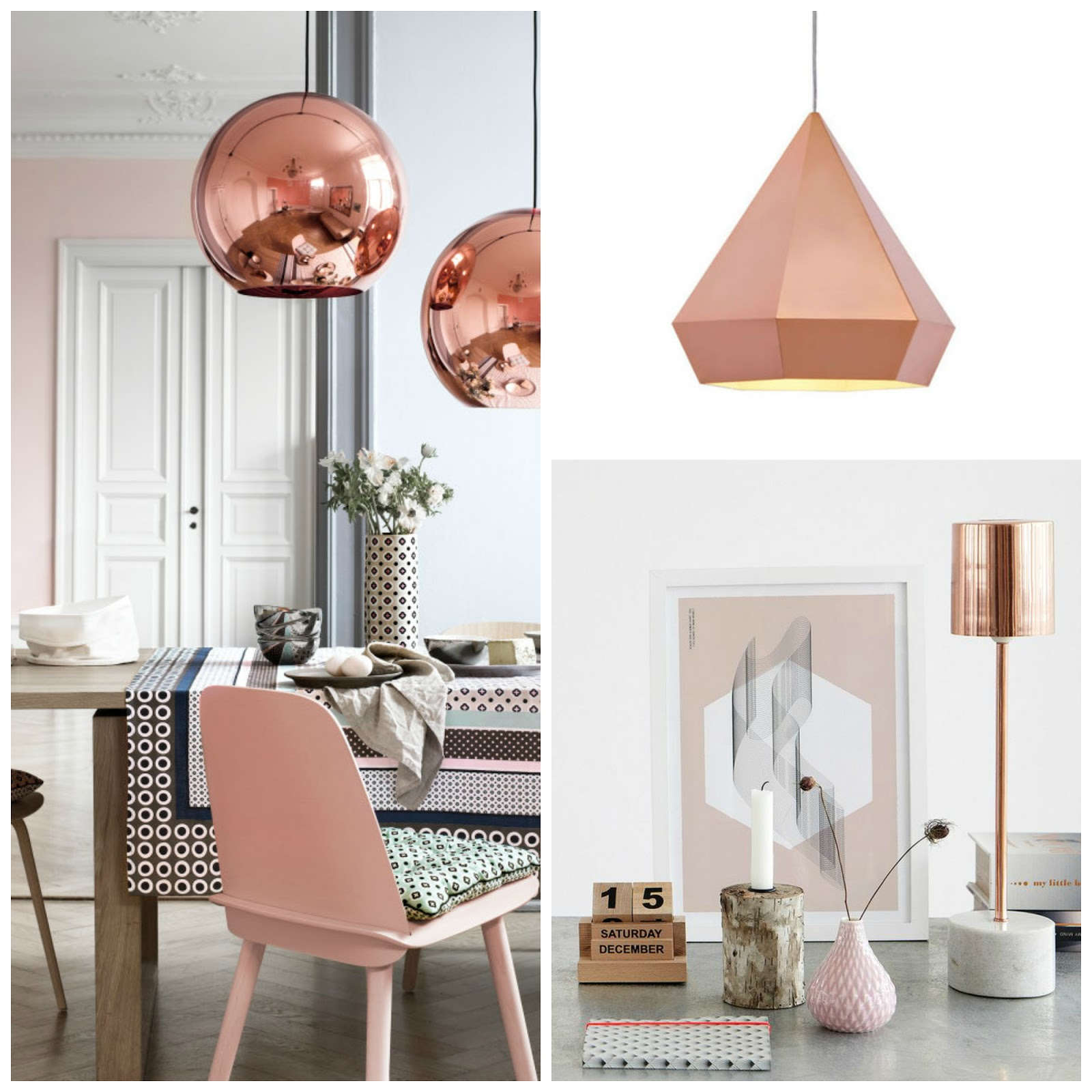 Famous THEORY OF DESIGN: COPPER & ROSE GOLD HF15