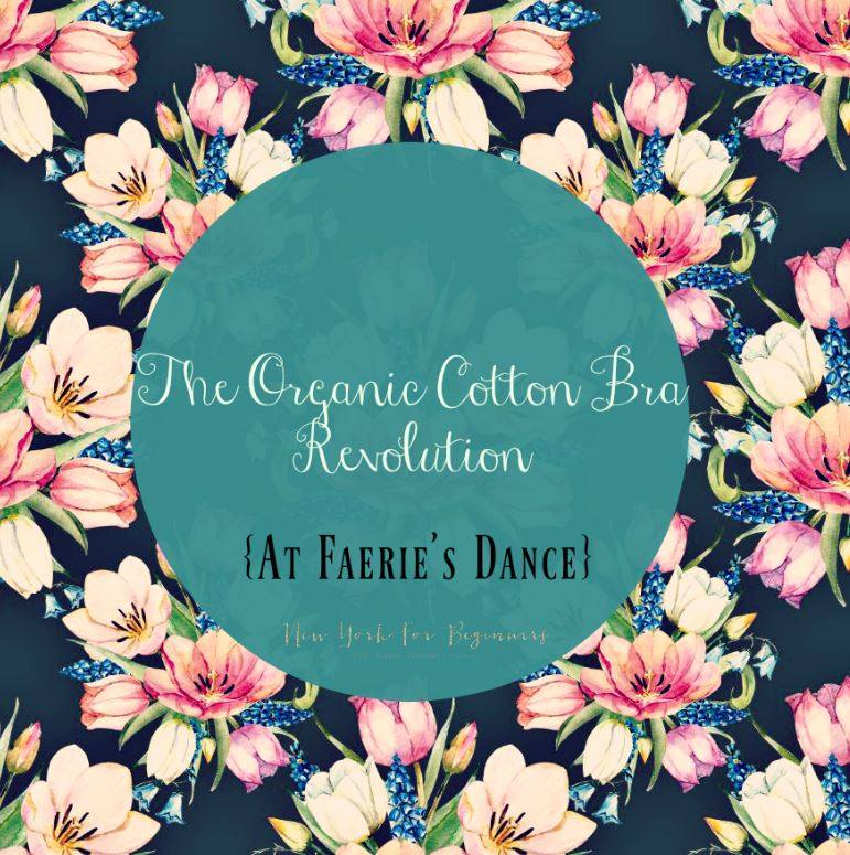 faerie's dance organic cotton bra review