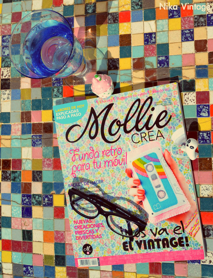 mollie crea, revista, craft, handmade, nika vintage, blog