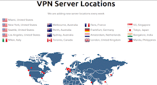 VPN Server Locations