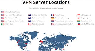 VPN Server Locations