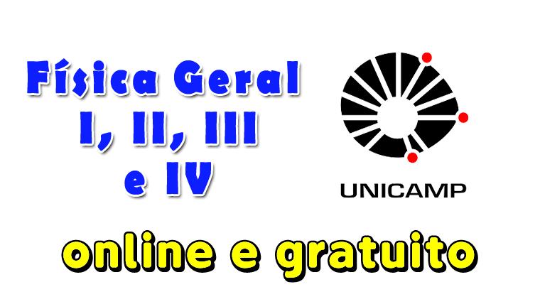 Unicamp oferece 4 cursos gratuitos e online de Física Geral