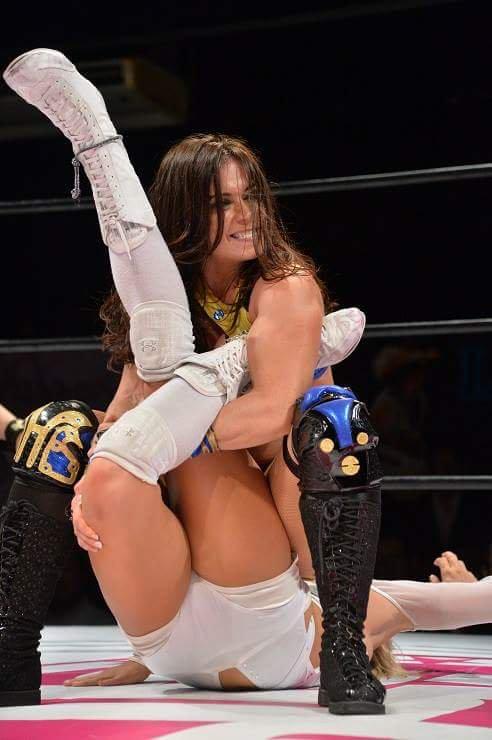 Japanese female bikini wrestling