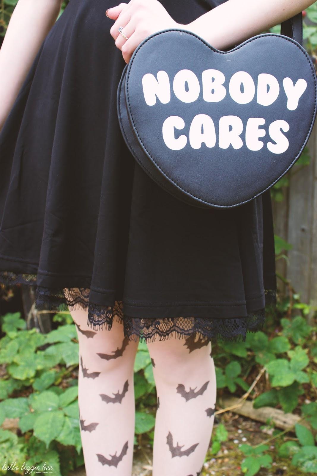 nobody cares, killstar bag