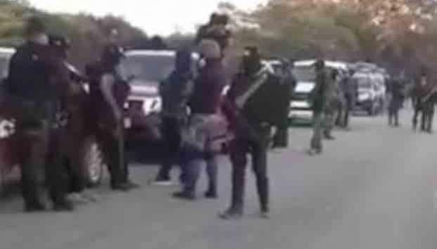 Revelan Policía Federal custodió a grupo armado del CJNG en Oaxaca