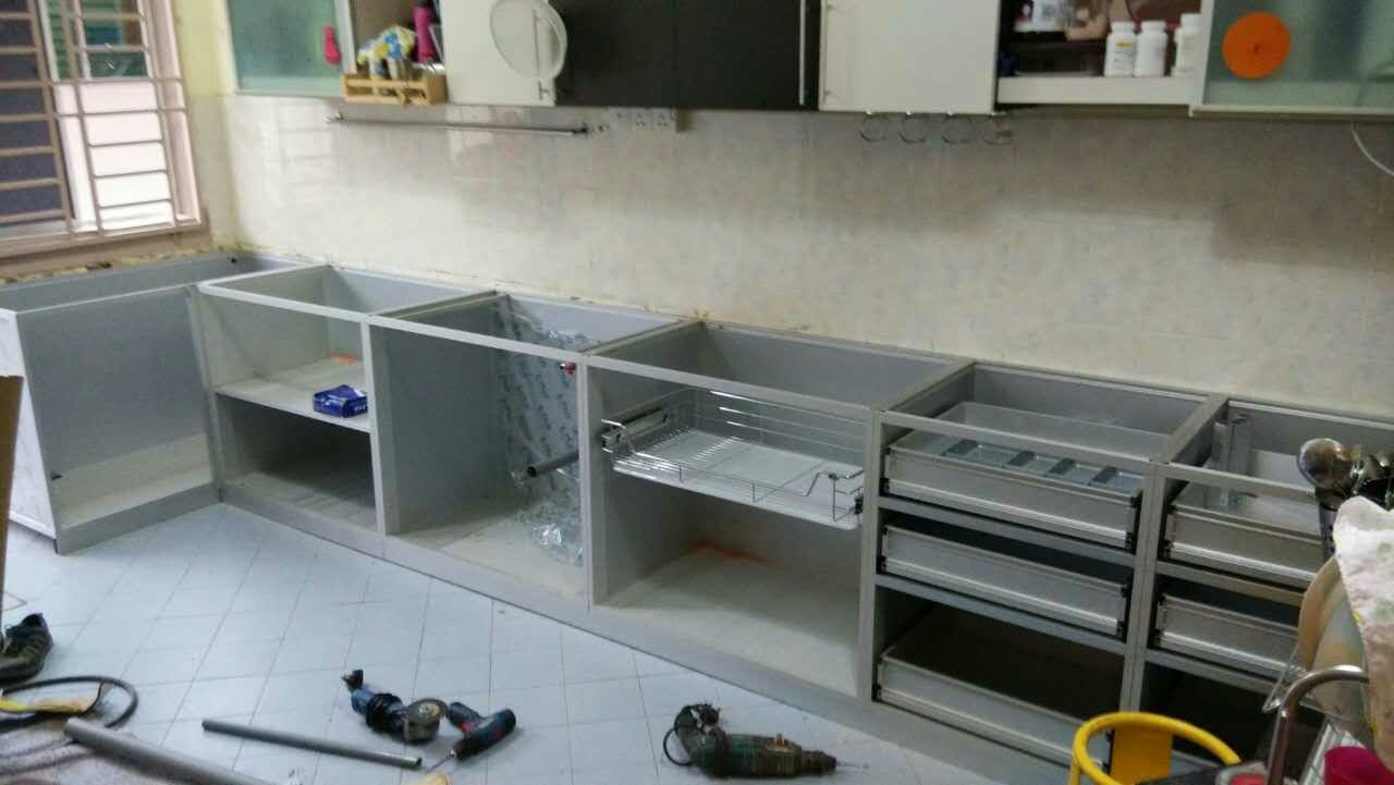 Aluminum Kitchen Cabinets Tables For 全成铝业 免费估价 免费构图 拥有一套耐久的全铝制厨柜 关于 换了铝制橱柜 防水更耐用