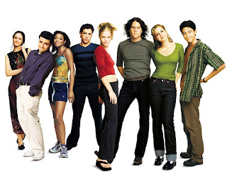 10 things i hate about you-susan may pratt-david krumholtz-gabrielle union-andrew keegan-julia stiles-larisa oleynik-joseph gordon-levitt