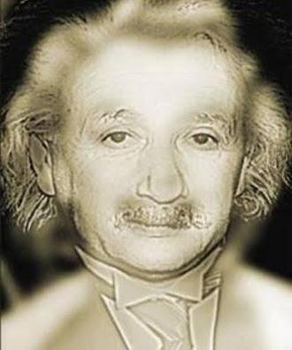 Yakından Albert Einstein uzaklaşınca Marilyn Monroe gibi görünen resim