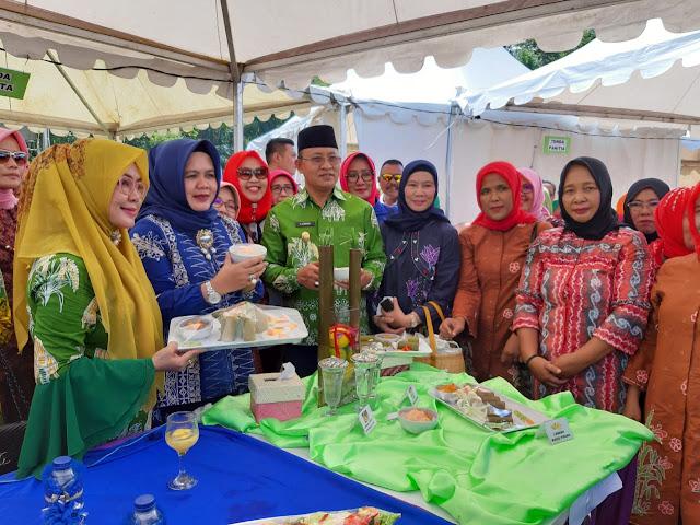 Festival melemang dan ngopi bareng Muara Enim