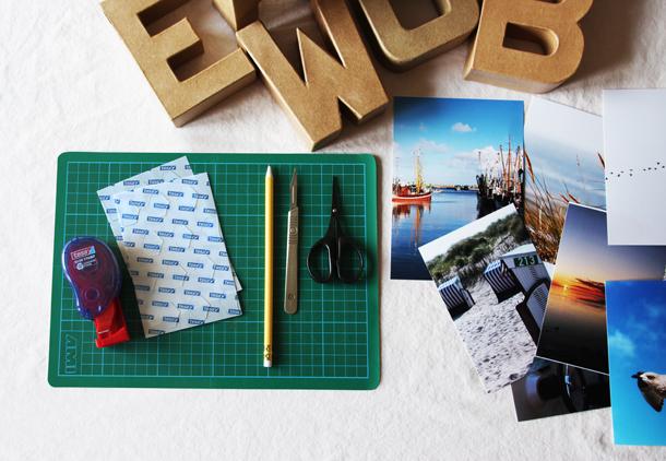 binedoro Blog, DIY-Projekt: 3D-Foto-Buchstaben, um schöne Erinnerungen festzuhalten