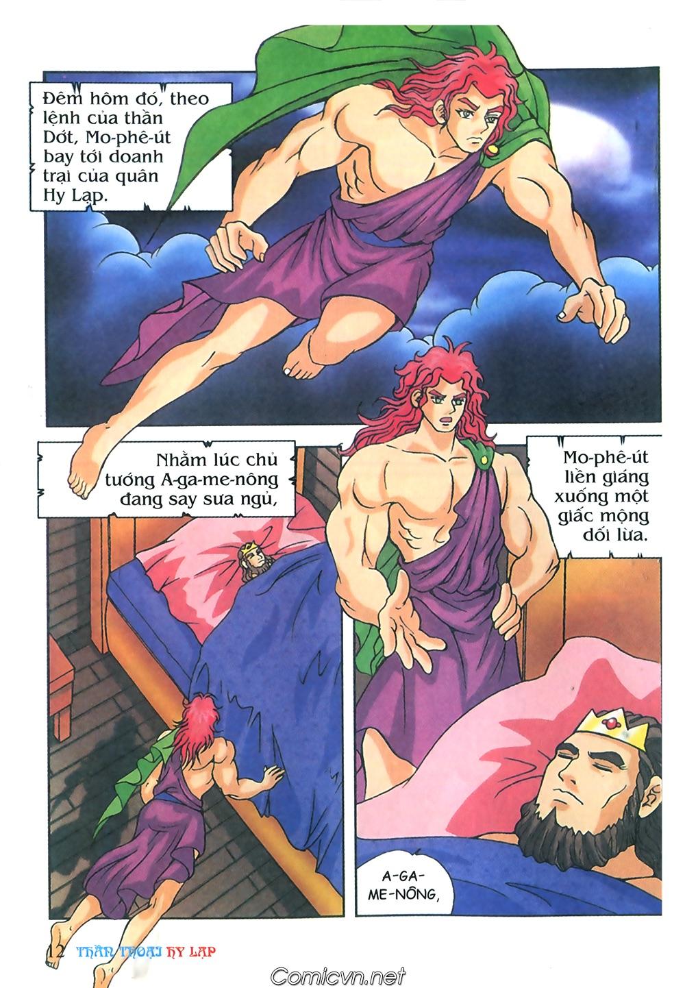 Thần Thoại Hy Lạp Màu - Chapter 57: Cuộc chiến định mệnh - Pic 11