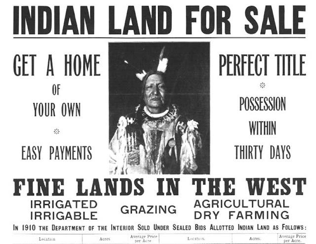 terre degli indiani