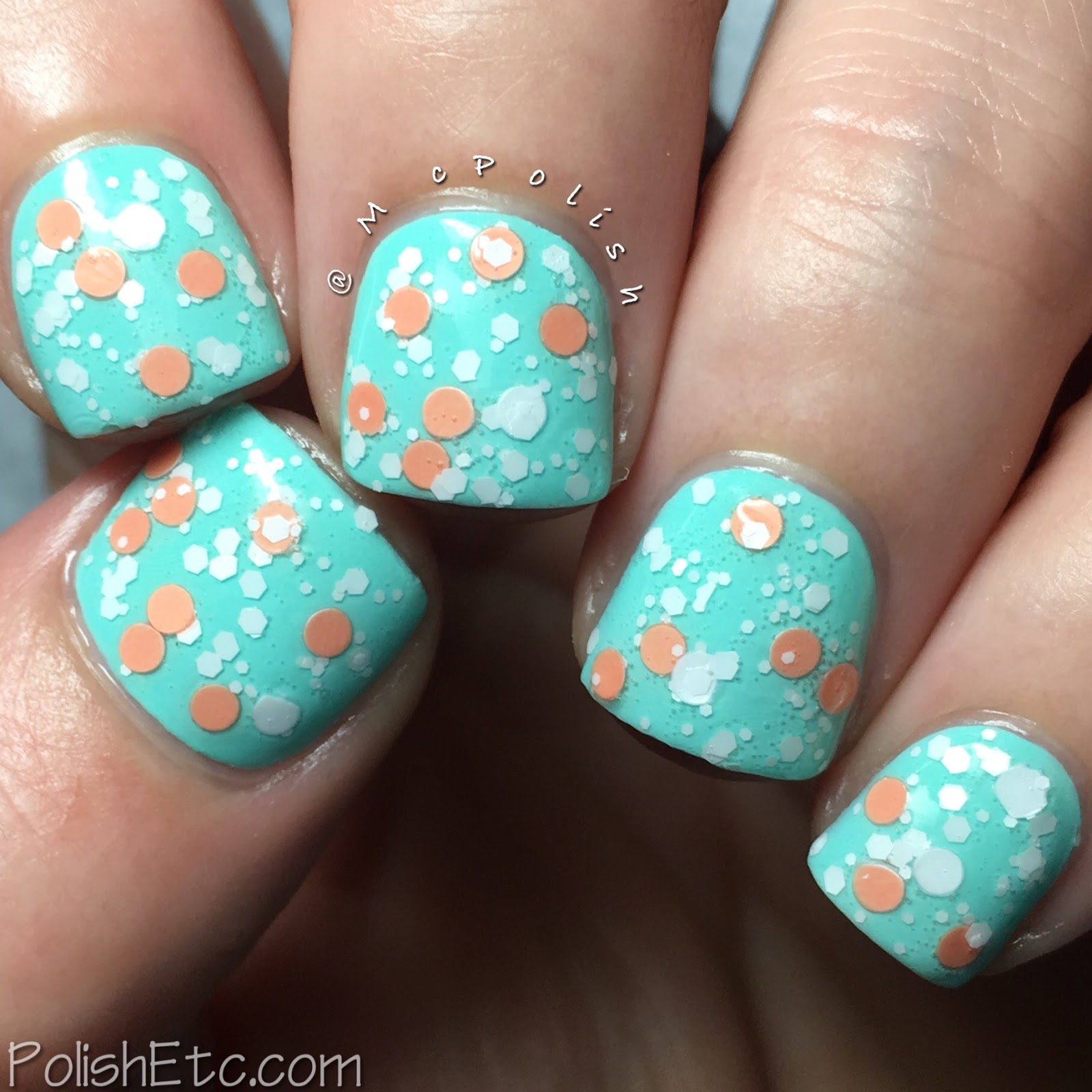 Whimsical Ideas by Pam - Spring 2017 Collection - McPolish - Peachy Keen