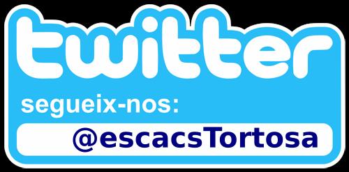 Segueix-nos al Twitter