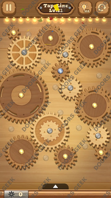 Fix it: Gear Puzzle [TapeLine] Level 21 Solution, Cheats, Walkthrough for Android, iPhone, iPad and iPod