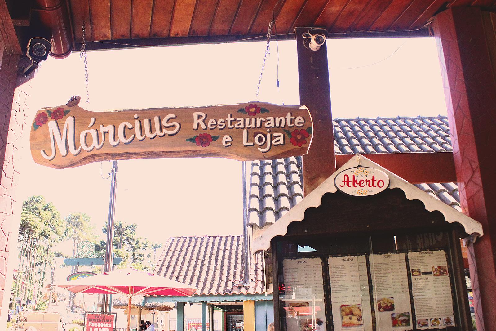 placa restaurante marcius