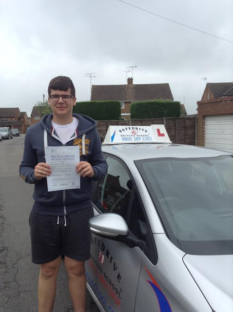 Driving lessons Luton, Driving instructor Luton, Driving school Luton CONGRATS CAMERON