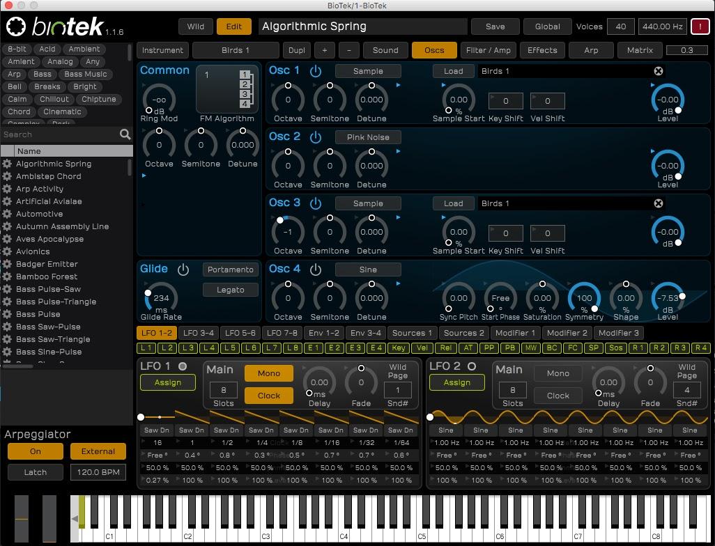 Tracktion BioTek Sound Designer Edition released - SYNTH ANATOMY