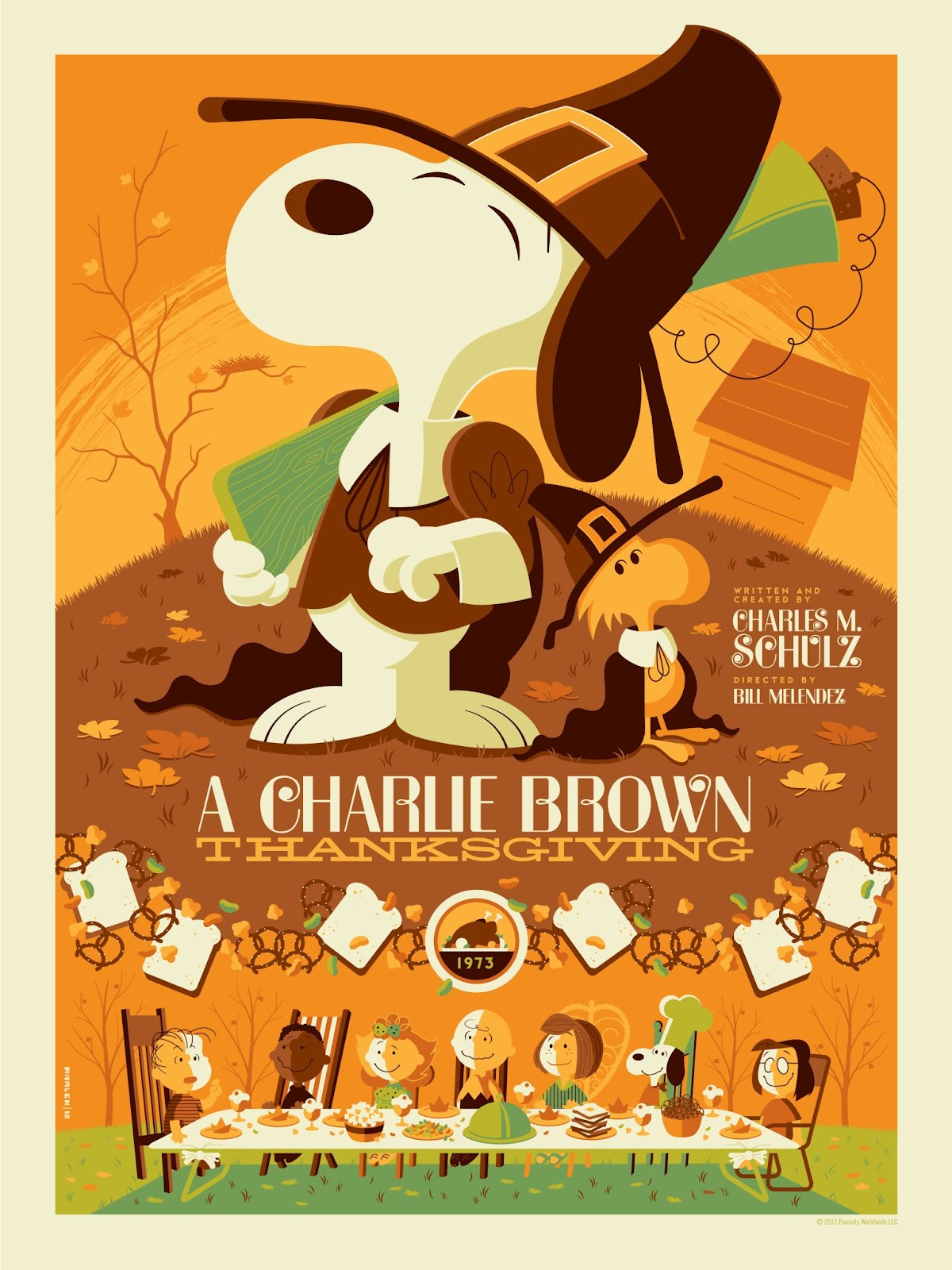"""The Blot Says...: """"A Charlie Brown Thanksgiving"""" Screen"""