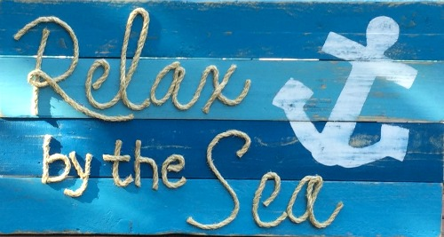 Nautical Rope Signs