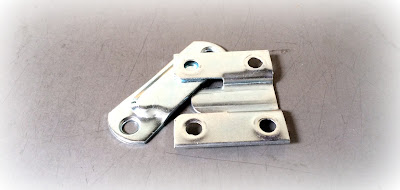 Special/custom male female flush mount stamped hardware in steel zinc material - engineered source is a supplier of special and custom stamped mounting hardware - covering Santa Ana, Orange County, Los Angeles, Inland Empire, San Diego, California, United States, Mexico