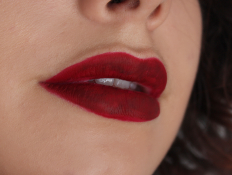 Jordana Sweet Cream Matte Lip Color liquid lipstick review swatches sweet marsala wine