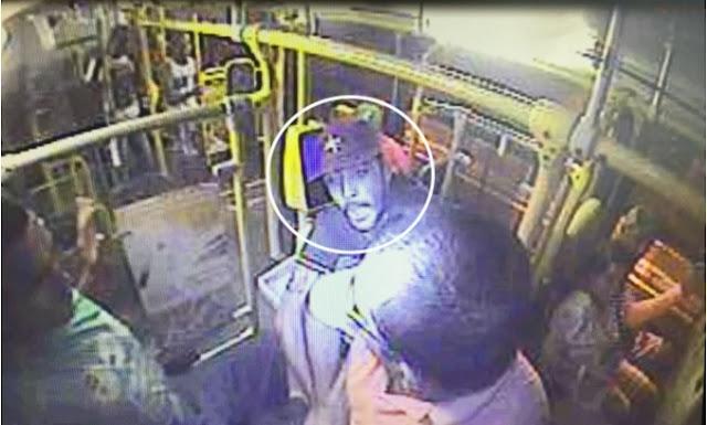 Polícia divulga imagens dos bandidos que balearam policial dentro de ônibus em Aracaju