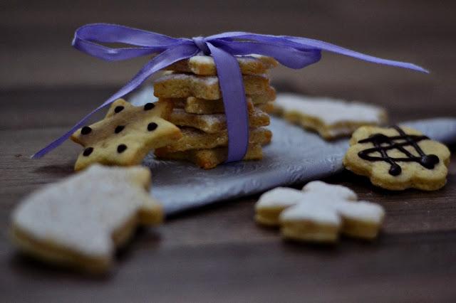 Máslové sušenky, butter biscuits